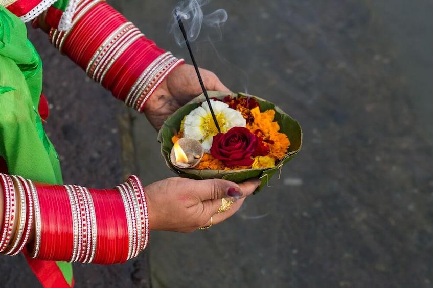 Show item 2 of 8. Ganga Aarti At Triveni Ghat at Rishikesh-Private Tour