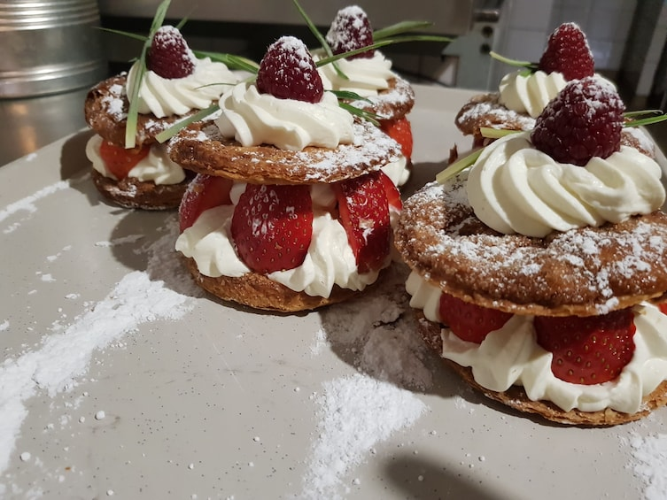 Show item 1 of 7. Fusion pastry workshop in Marseille