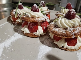 Fusion pastry workshop in Marseille