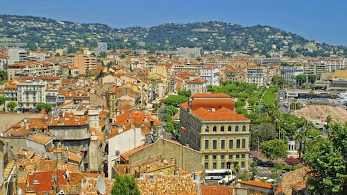 Gorgeous city view of Cannes