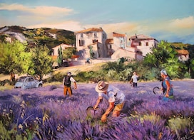 Half-day The Lavender Road of Sault from Avignon