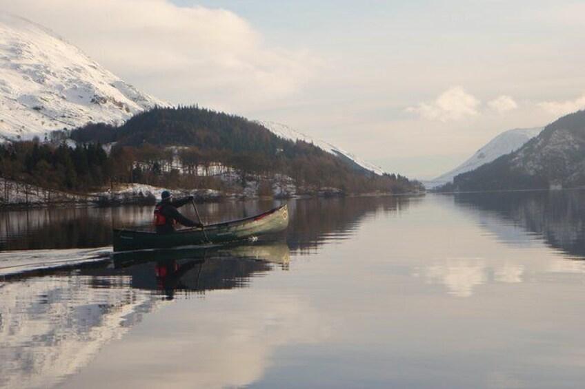 Canoe on Derwent Water