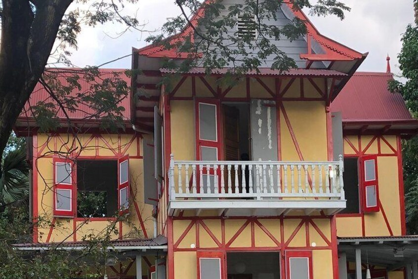 """Show item 3 of 6. """"Maison Chenet"""" A restored Gingerbread house"""