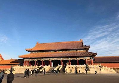 Beijing Forbidden City and Mutianyu Great Wall Bus Tour
