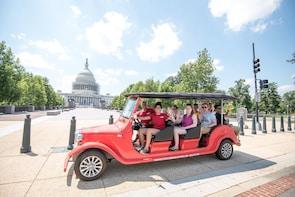 Washington: Kleingruppentour durch die Stadt in einem offenen eCruiser