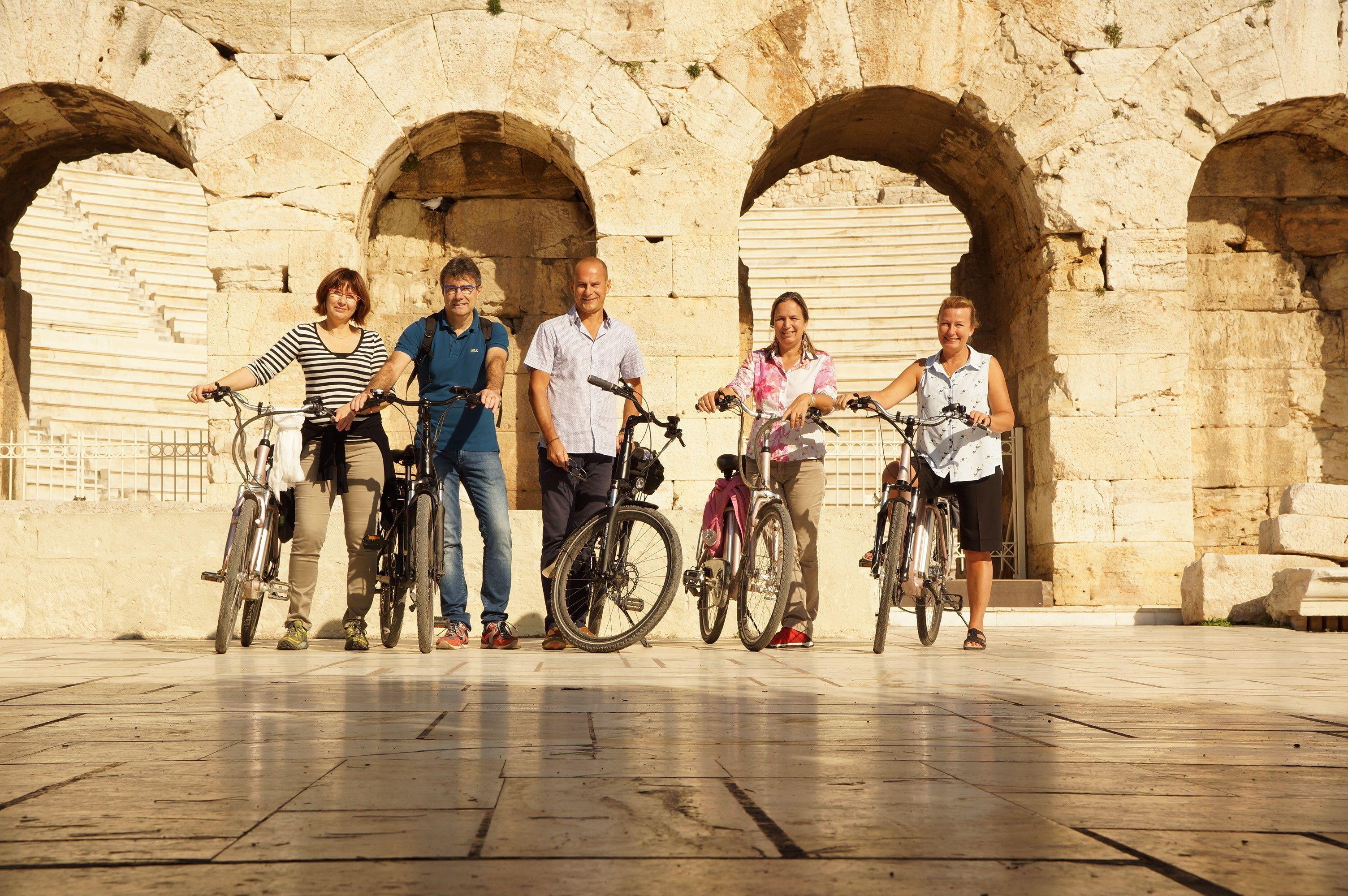 Klassische Stadttour mit Electric Bicycle
