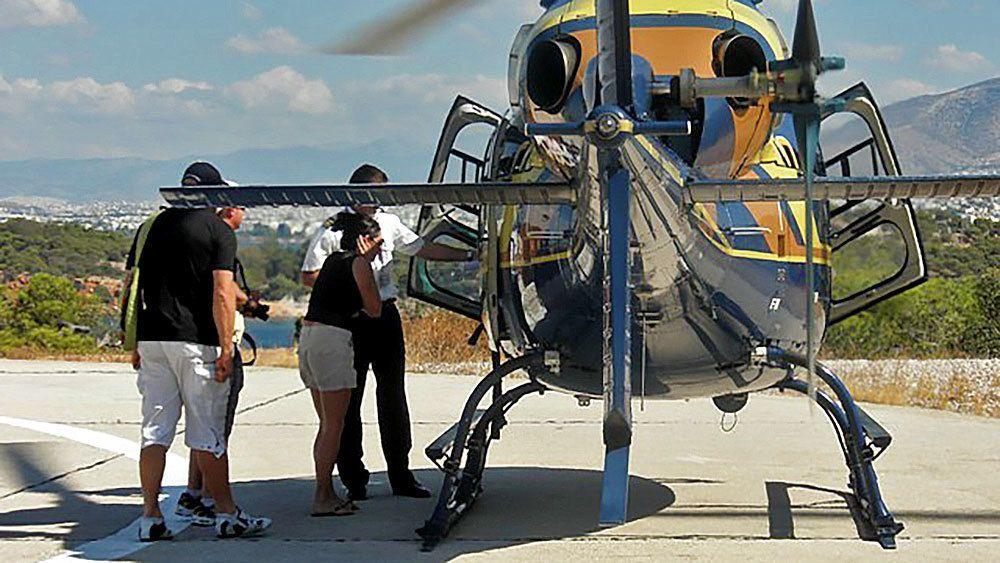 Passeios de avião, balão e helicóptero