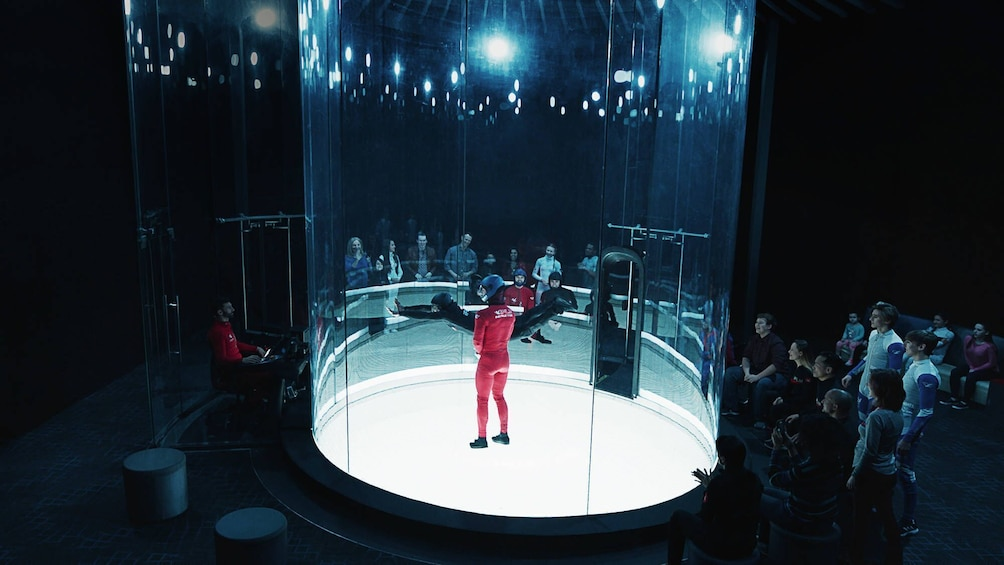 Show item 4 of 6. Two Flight Indoor Skydiving Experience