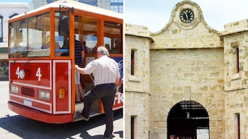 Hop-On Hop-Off Tram Ticket & Fremantle Prison Tour