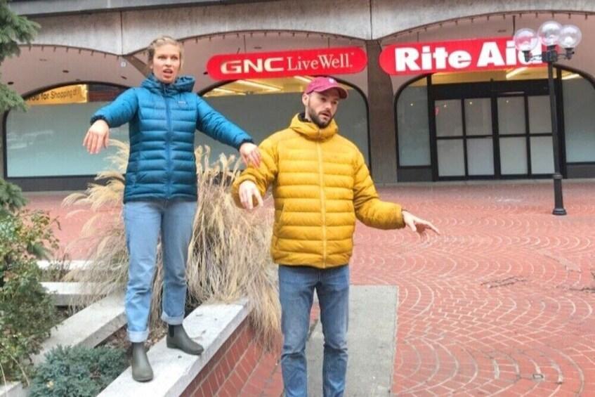 Show item 1 of 9. Survival Scavenger Hunt walking tours of West Virginia
