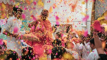 Holi Festival of Colors in Vrindavan & Mathura