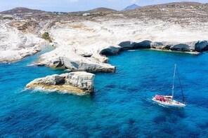 Shared Half Day Cruise from Milos to Provatas & Kleftiko