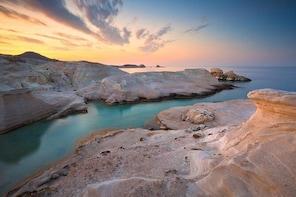 Shared Sunset Cruise from Milos via Kleftiko