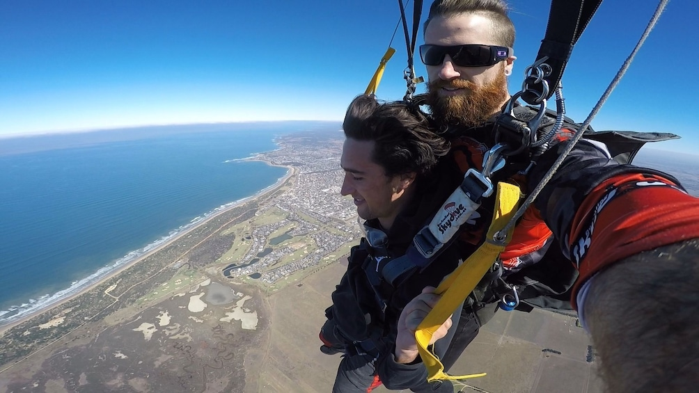 Tandem Skydive Over Bells Beach, Torquay - up to 15,000ft