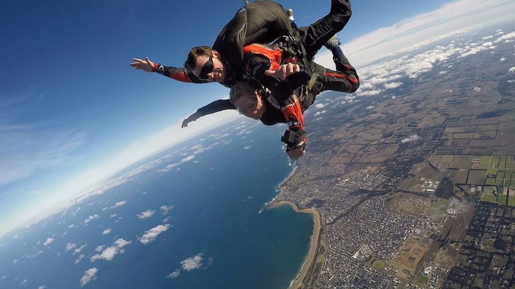 Show item 4 of 11. Tandem Skydive Over Bells Beach, Torquay - up to 15,000ft