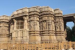 Patan Stepwell and Modhera Sun Temple from Ahmedabad
