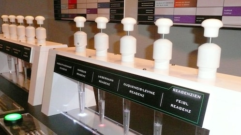Learn about forensic science at CSI the experience in Las Vegas