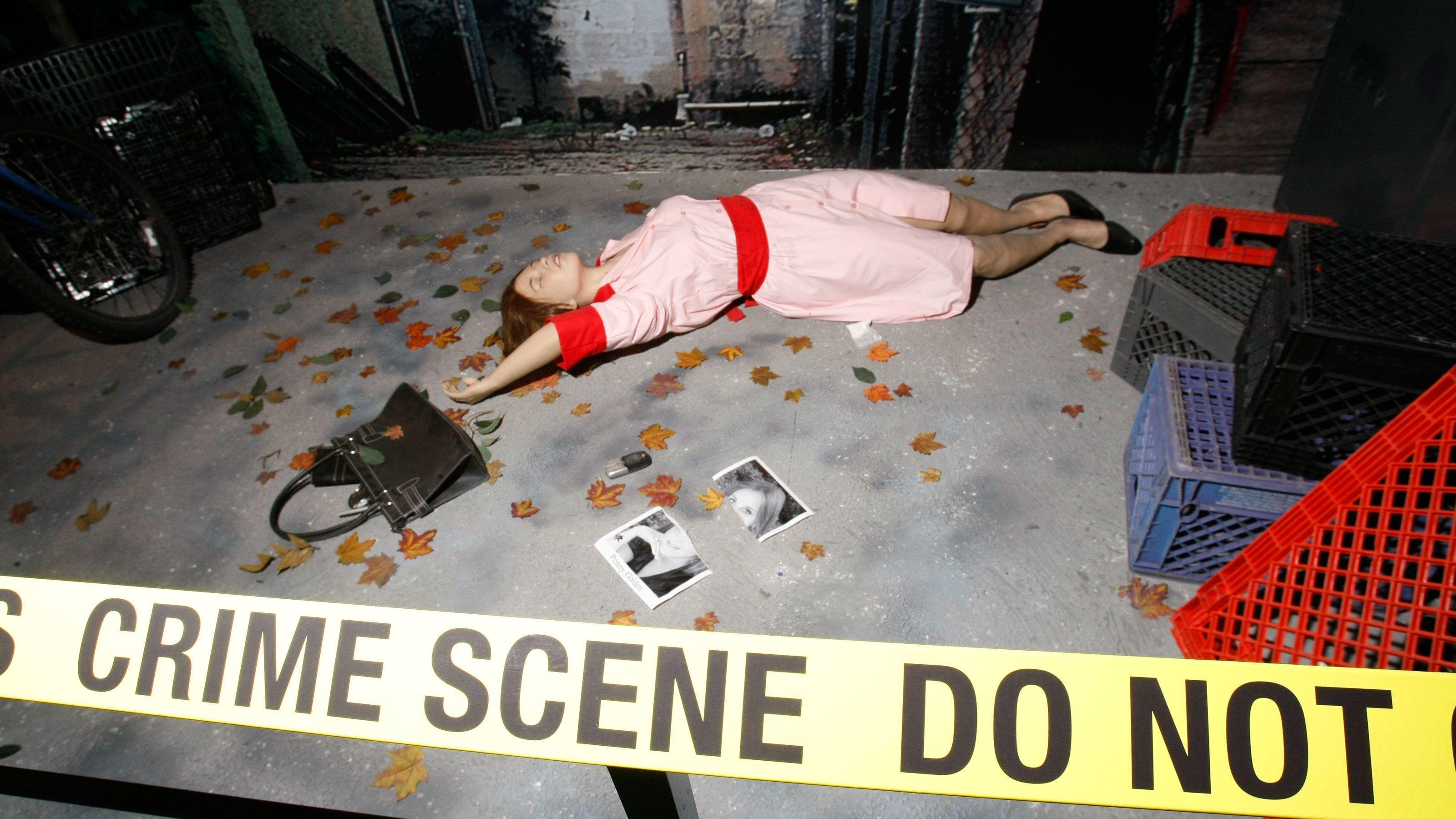 Investigate a crime scene at CSI the Experience in Las Vegas