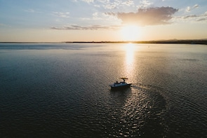 Sunset Solar Boat Trip of Ria Formosa from Faro
