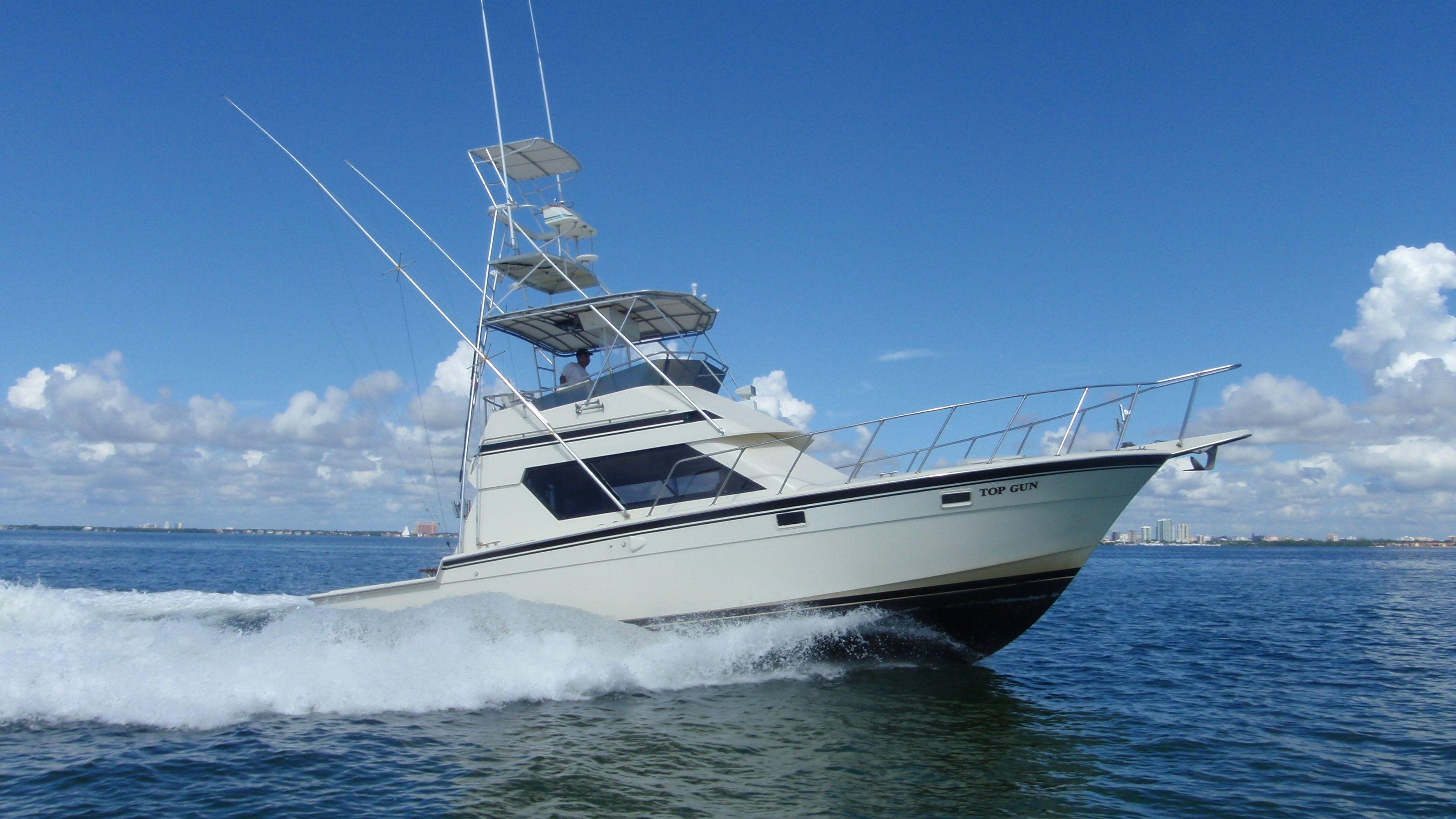 Top Gun fishing boat in Key West