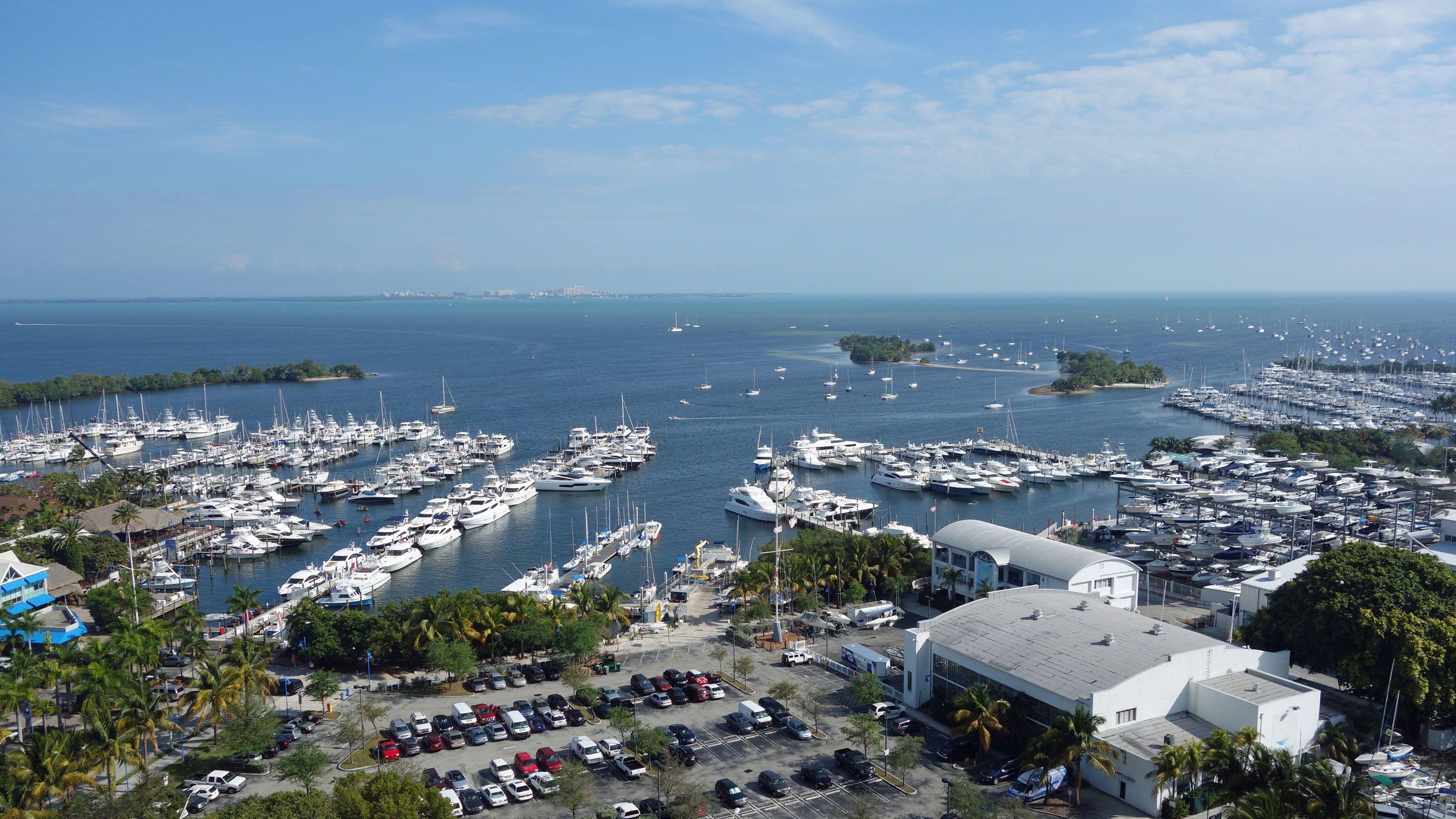 Boating docks at Key West