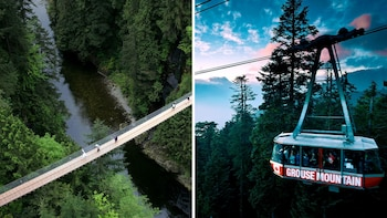 North Shore Capilano Bridge & Grouse Mountain Tour