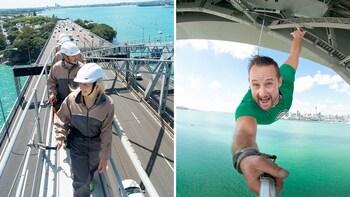 Auckland Harbour Bridge Climb & Bungy Combo