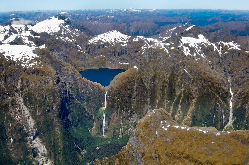 Show item 5 of 10. Milford Sound Fly-Nature Cruise-Fly Half Day Tour