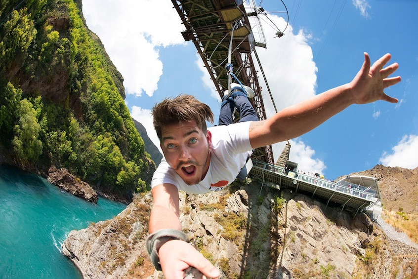 Show item 2 of 8. Kawarau Bridge Bungy - World's First Commercial Jump Site