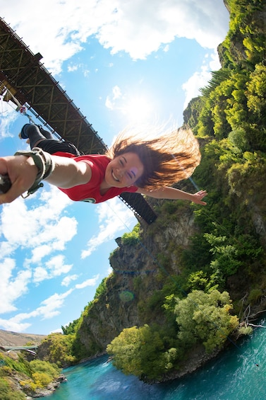 Show item 3 of 8. Kawarau Bridge Bungy - World's First Commercial Jump Site