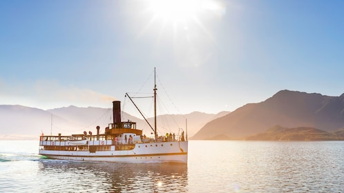 Steamboat off the coast of Queenstown