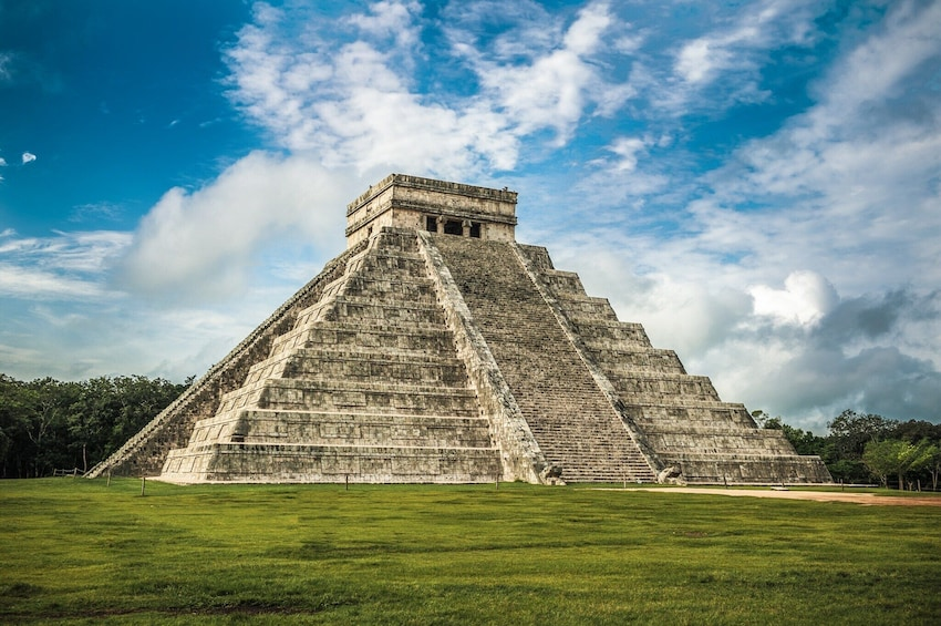 Show item 1 of 13. Chichen Itza from Cancun