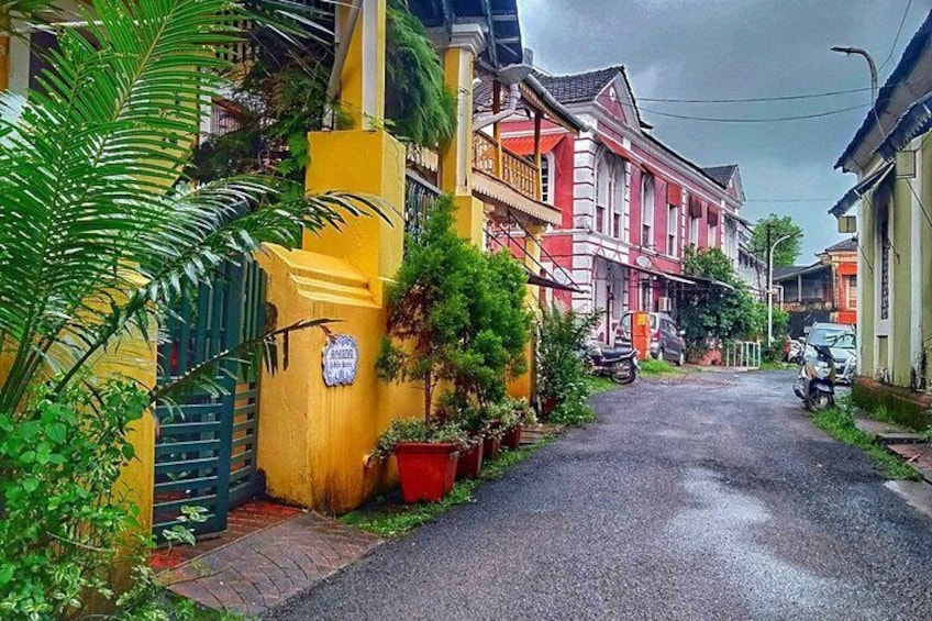 Portugal trails in Goa