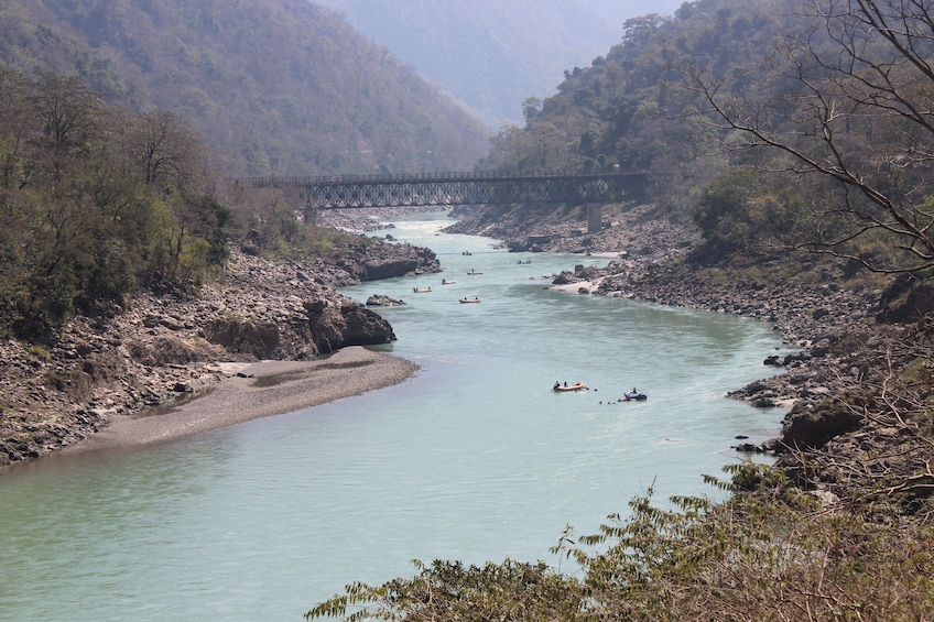 Show item 5 of 5. Auli and Rishikesh Tour from Delhi