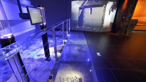 Inside a museum in Krakow