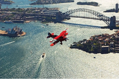 Harbour Bridge In The Open Cockpit Pitts Special