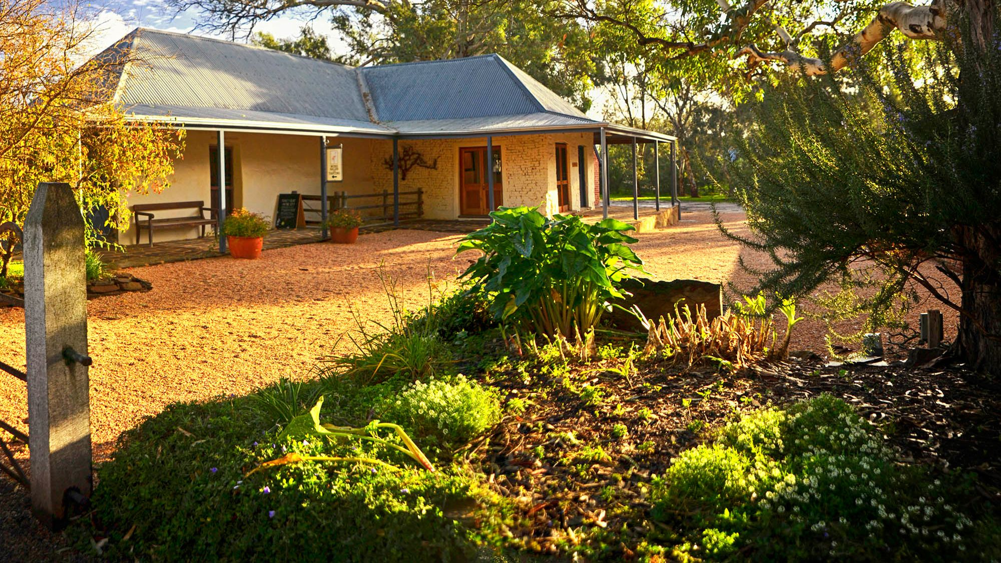 Building in Northern Barossa Valley in Australia.