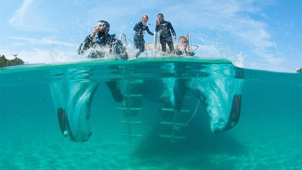 Upptäck dykning i Santa Ponsa