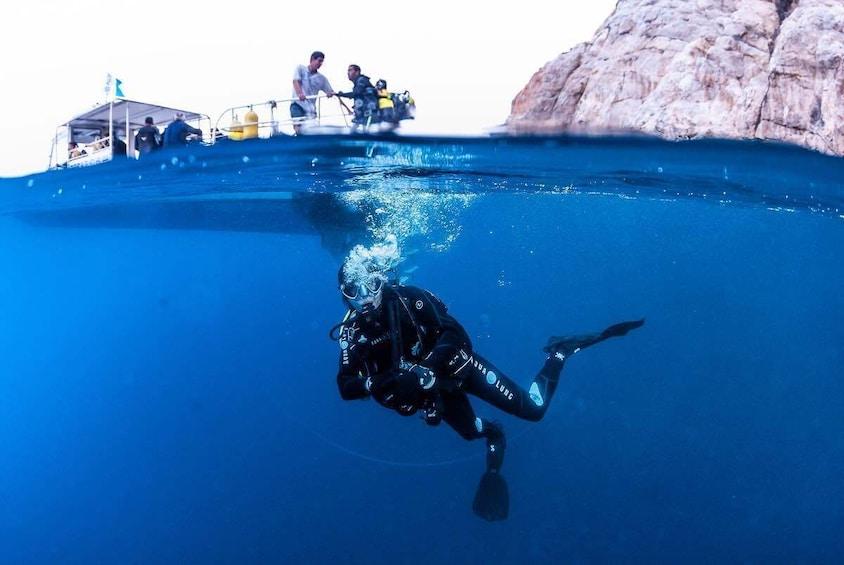 Discovering Scuba Diving in Santa Ponsa