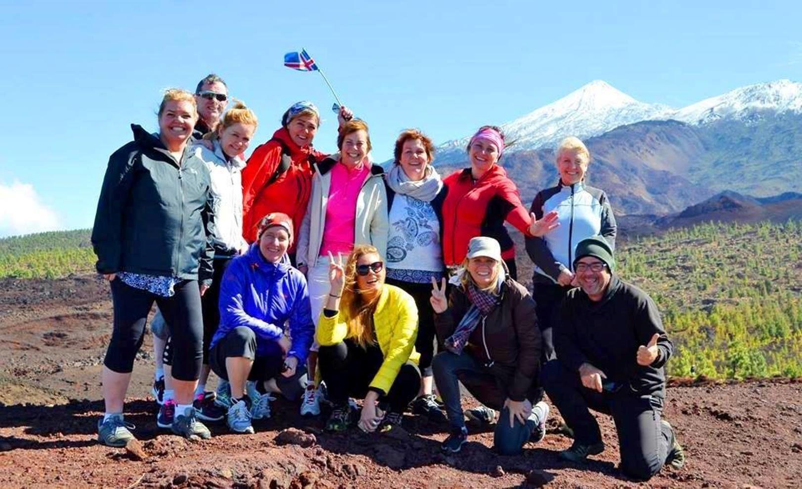 Vaellusretki tulivuorelle Teiden kansallispuistossa ja tapaksia
