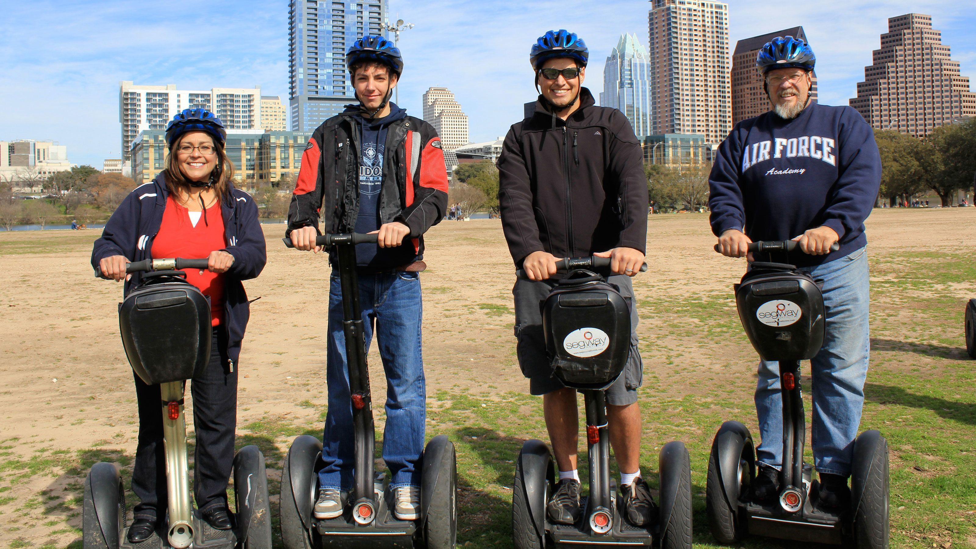 Historic Downtown Austin Segway Tour