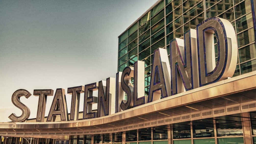 Show item 1 of 5. Staten Island Scavenger Hunt: Ferry Ride to Staten Island