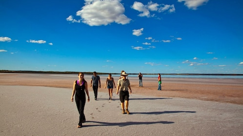 Tour in Australian outback