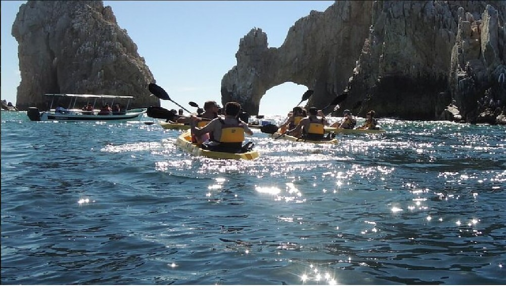 Show item 2 of 7. Los Cabos Arch and Playa del Amor Tour