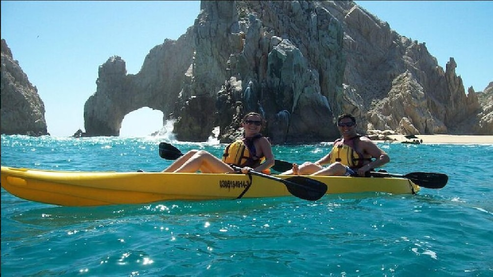 Show item 1 of 7. Los Cabos Arch and Playa del Amor Tour