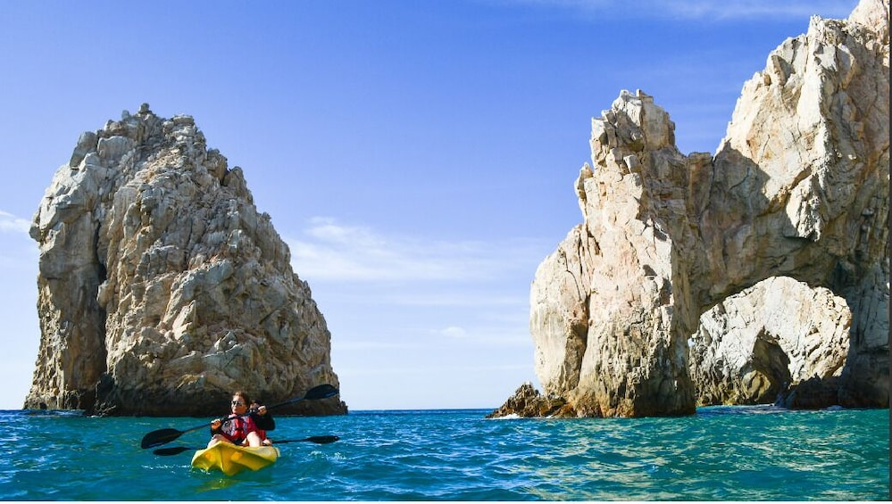 Show item 7 of 7. Los Cabos Arch and Playa del Amor Tour