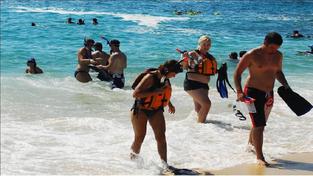 Show item 3 of 7. Los Cabos Snorkeling Tour – Chileno Bay and Santa Maria Cove