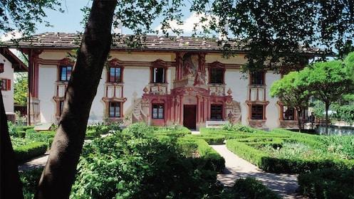 Building seen on the Neuschwanstein and Linderhof Premium Tour