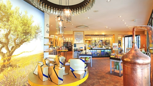 Inside the L'Occitane cosmetic factory