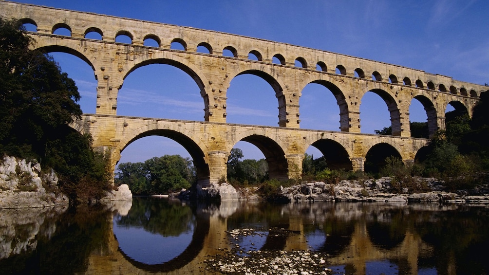 Show item 1 of 7. View of the Pont du Gard